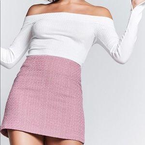 Forever 21 Dusty Pink Skirt
